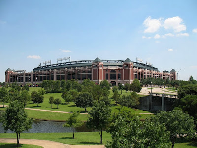 Rangers Ballpark in Arlington Texas