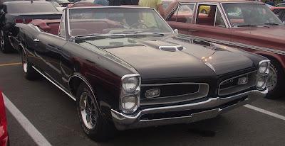 65 Pontiac GTO Convertible