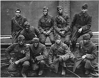 African American soldiers World War I