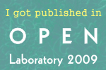 Open Lab 2009 winner