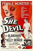 She-Devil movie poster