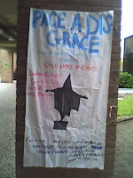 PACE conference protest poster