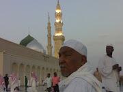 Menziarahi nendanya Maulana Rasulullah s.a.w