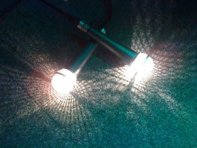 Mikrofon Lampe