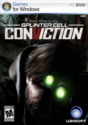 Categoria acao, Capa Download Splinter Cell Conviction (PC)