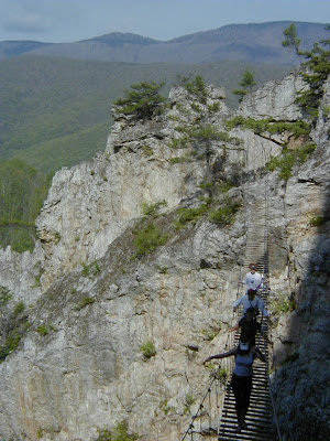 Nelson Rocks Preserve, WV, Via Ferrata