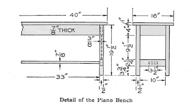 Library table woodworking plans easel