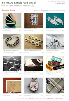 etsy team treasury list