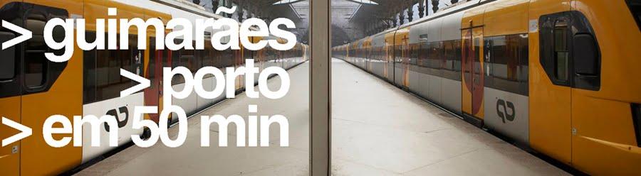 Comboios Expresso para Guimarães