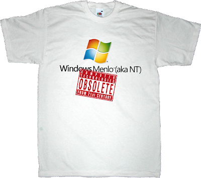 OCTFTC obsolete microsoft nt menlo t-shirt ephemeral-t-shirts
