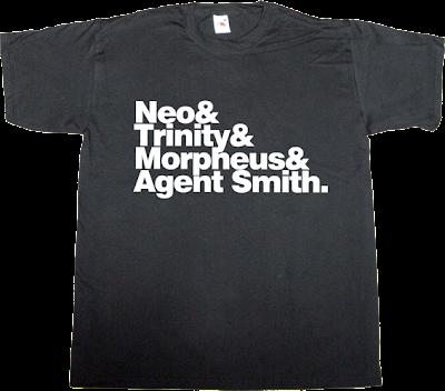 Matrix movie helvetica t-shirt ephemeral-t-shirts