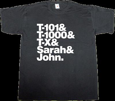 terminator movie helvetica t-shirt ephemeral-t-shirts