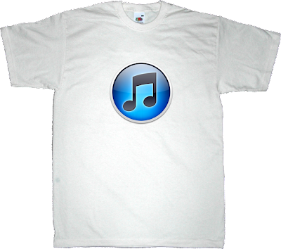 itunes apple birthday t-shirt ephemeral-t-shirts