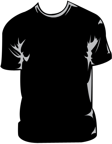 Free T Shirt Design Template.