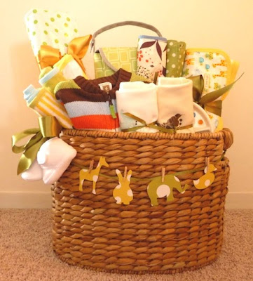 gift idea? reminds me of a wedding gift i received.. a picnic basket ...