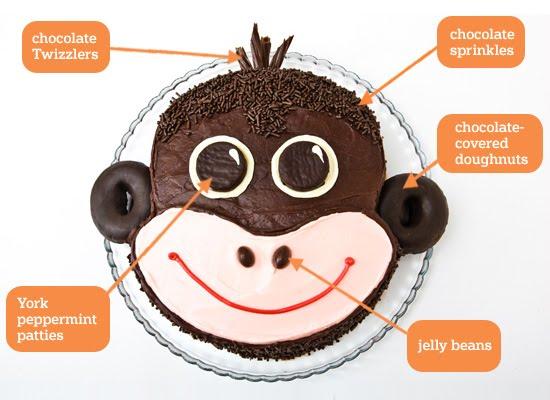 How To Make Sock Monkey Birthday Cake