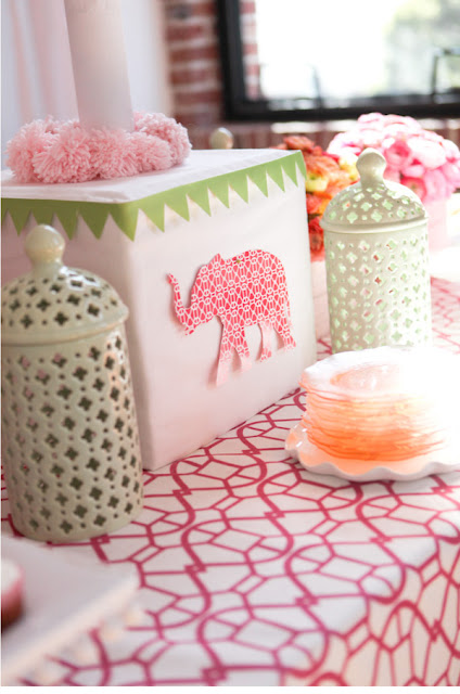 elephant baby shower sweet ideas