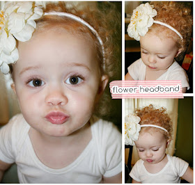 Child&#39;s Flower Headband Tutorial