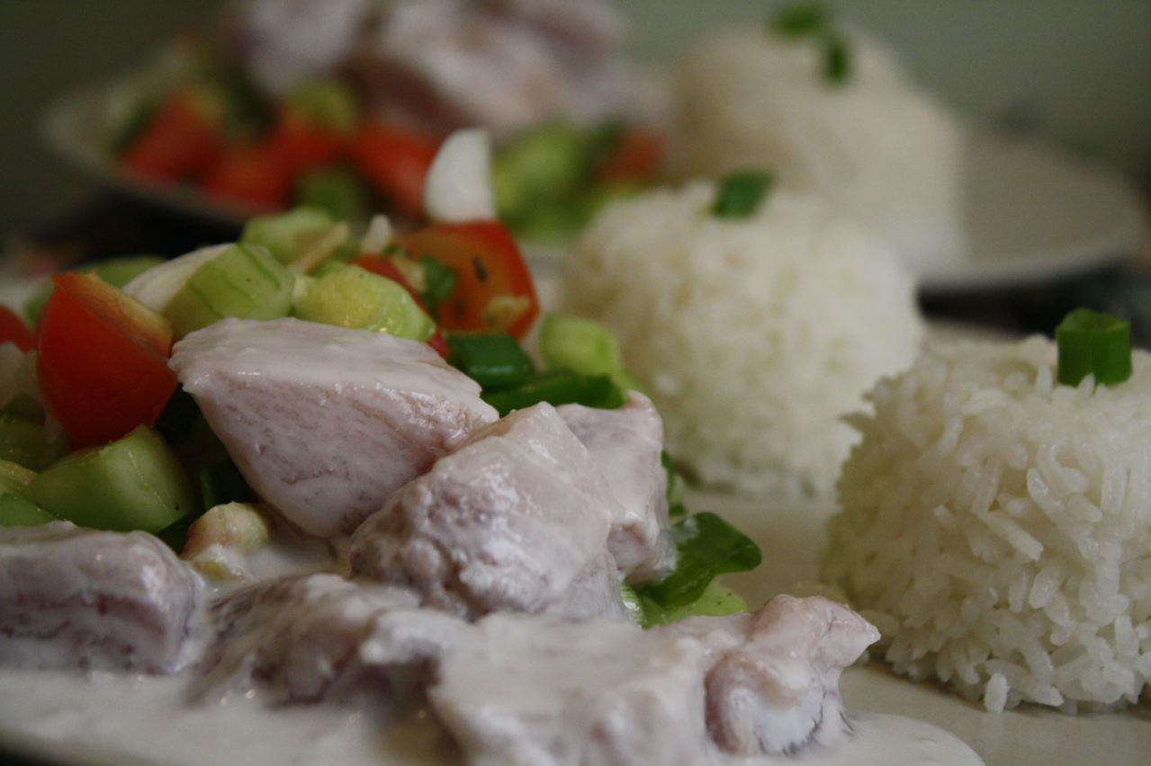 la chipilina parisina: tartare de thon à la tahitienne