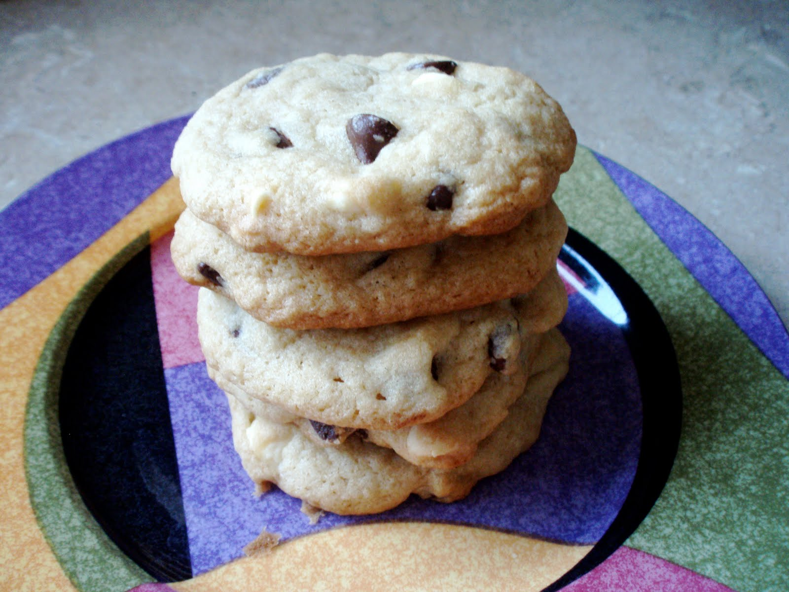 Naked Cupcakes: Chocolate Chip Cookies