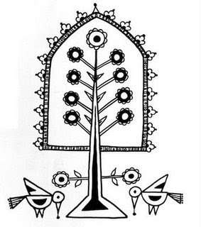 Indian Folk Designs: ~ Folk Designs from West India ~