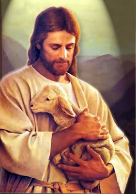 What Kind of Sheep are you- God holding Sheep