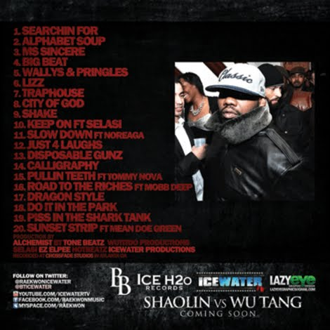 Raekwon Cocainism Vol 2 Mixtape Back