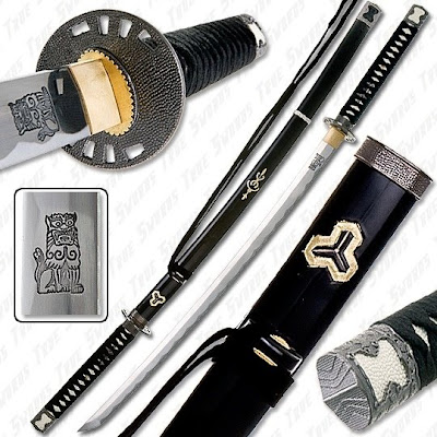 functional kill bill samurai sword replica