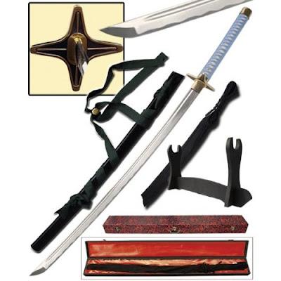 musashi handmade bleach zanpakutou toshiro hitsugaya sword replica hyourinmaru