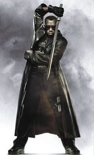 blade sword of the daywalker movie sword replica standing