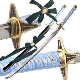 decorative stainless steel bleach zanpakutou toshiro hitsugaya sword replica hyourinmaru topswords