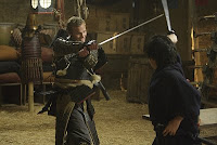 Takezo Kensei fight Hiro Nakamura sword