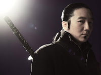 Heroes Hiro Nakamura with Takezo Kensei sword
