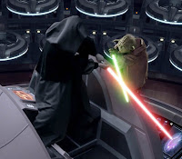 Sith Lord fight Master Yoda