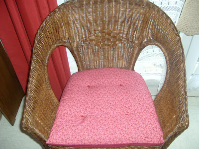 Les passions de v ronique housse de coussin du fauteuil for Coudre housse fauteuil