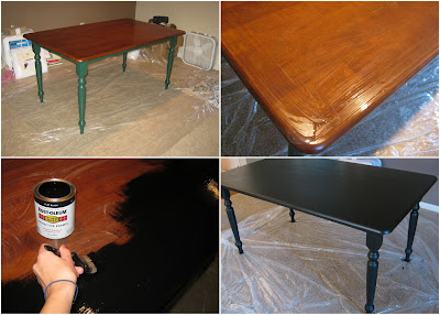 Dwelling telling diy dining room table for Table 85 hours