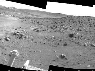 Rover Spirit en Troya