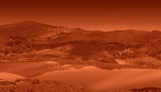 lago en la superficie de Titán