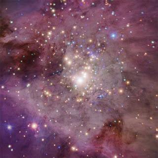 formación de estrellas
