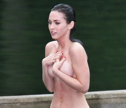 megan fox naked video