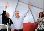 Socialistas de Cádiz con Pepe Griñán