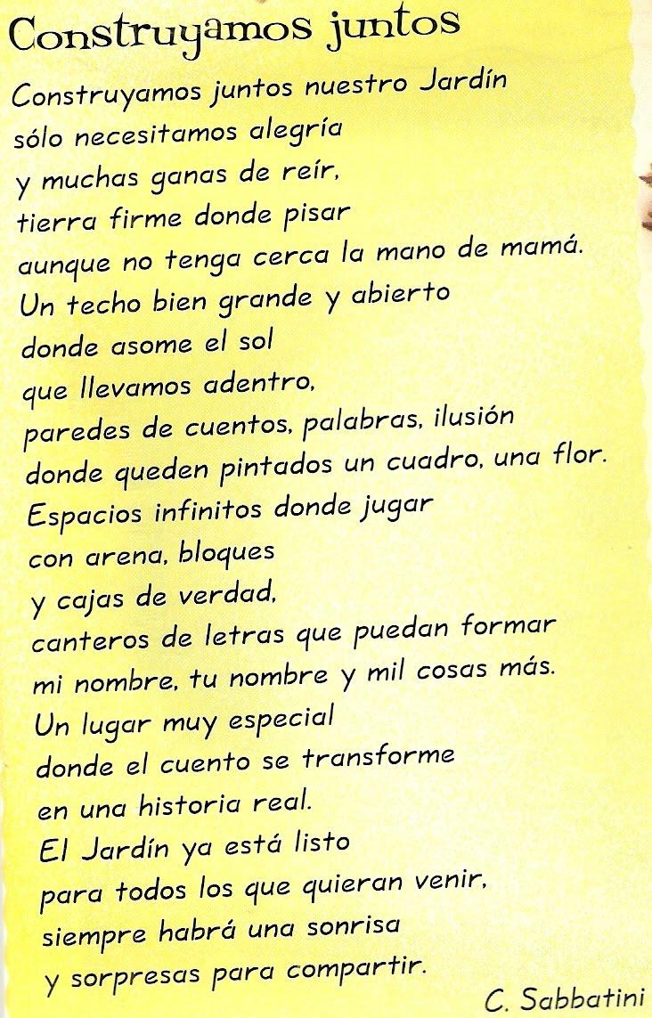 Poemas De Fin De Ano Escolar Para
