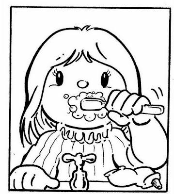 El rincon de la infancia: ♥ Dibujos de Higiene ♥