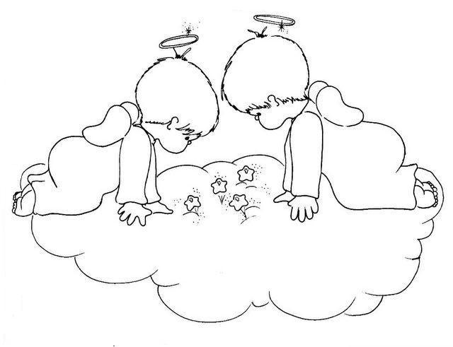 Mi colección de dibujos: ♥ Angelitos tiernos