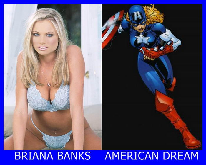 Briana Banks como American Dream