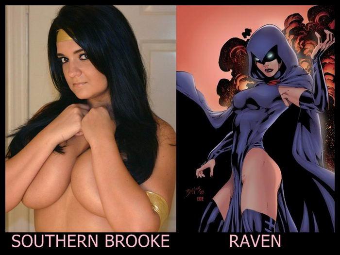 Southern Brooke como Ravena