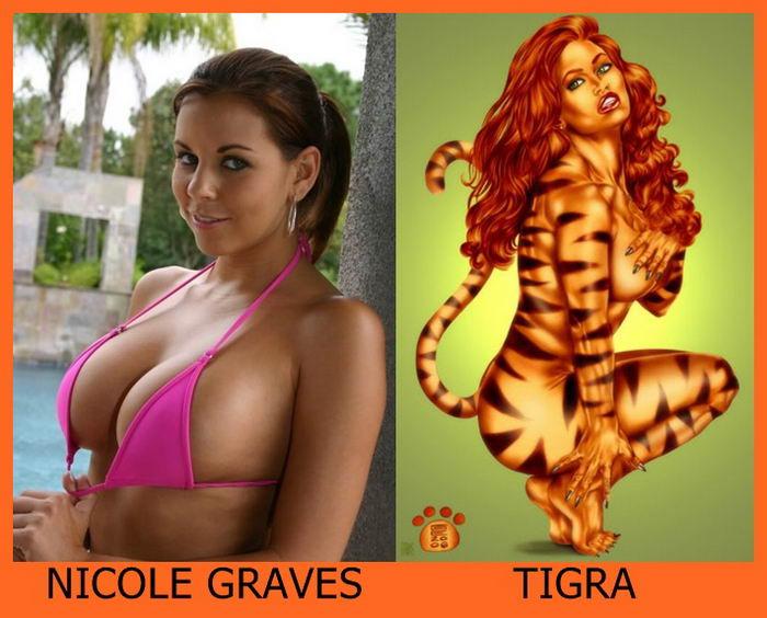 Nicole Graves como Tigra
