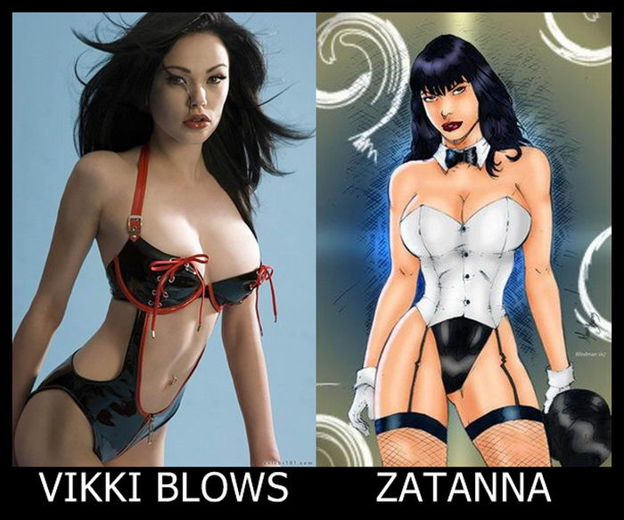 Vikki Blows como Zatanna