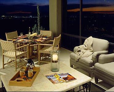 Exterior residential balcony