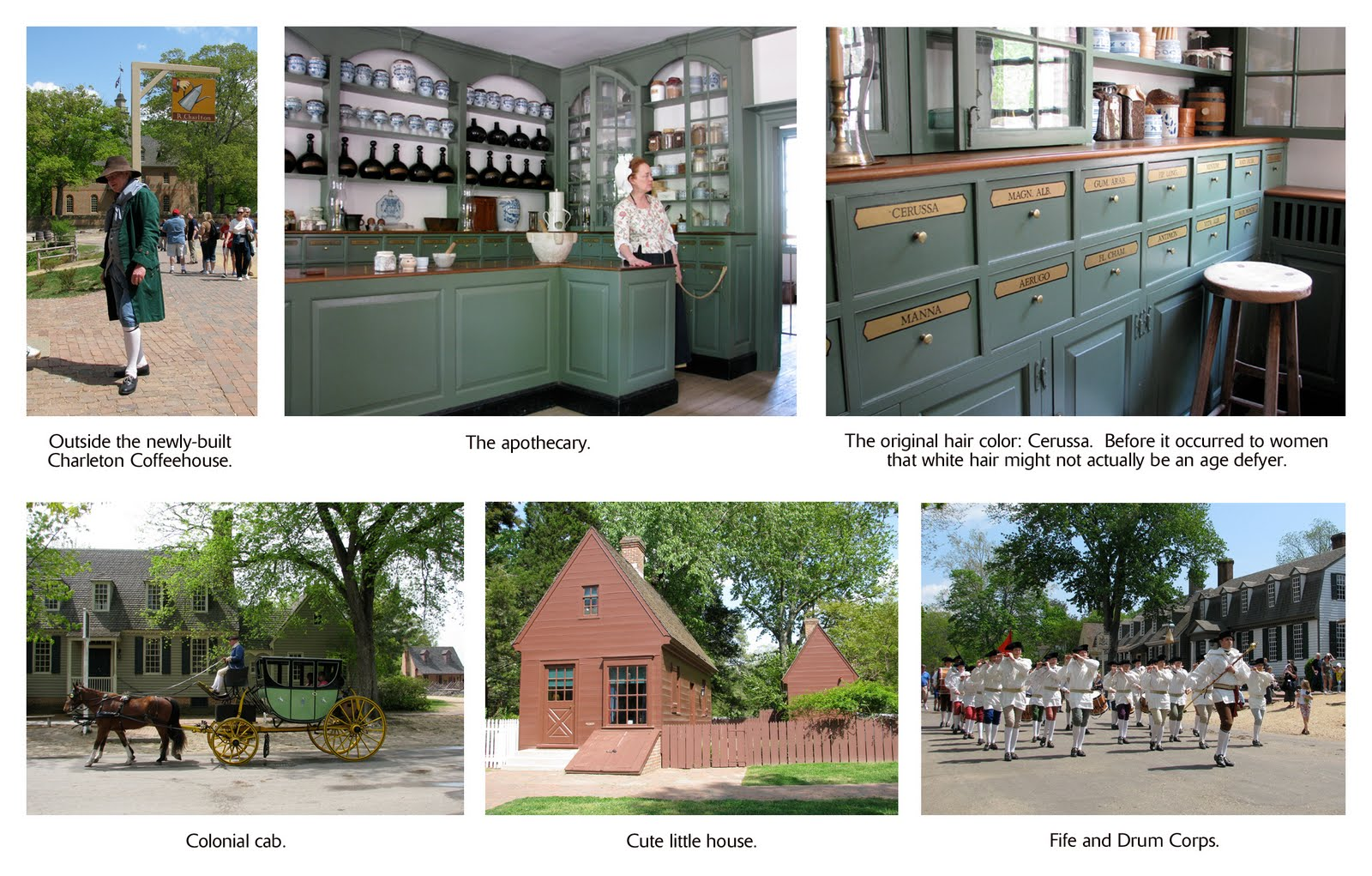 The Village Carpenter: Scenes from Colonial Williamsburg